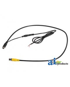 CabCAM Cable, Wired CabCAM Camera To CASE IH AFS PRO Or NEW HOLLAND INTELLIVIEW Monitors With Video