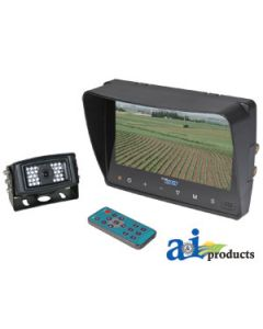 """CabCAM Video System, Touch Button (Includes 7"""" Monitor and 1 Camera)"""