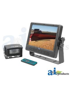 """CabCAM Video System, Touch Button (Includes 9"""" Monitor and 1 Camera)"""