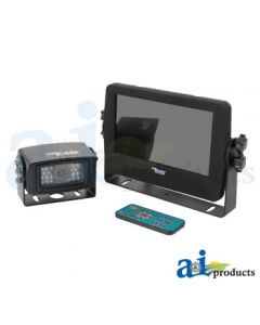 """CabCAM Video System, WEATHERPROOF Touch Button (Includes 7"""" Monitor And 1 Camera)"""