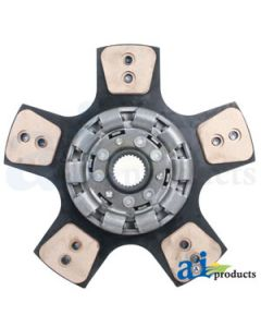 "Seperator Drive Clutch Disc: 12"", 4-button, solid"