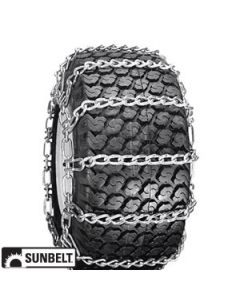 410X350X6,SNOW BLOWER TIRE CHAINS,2 LINK