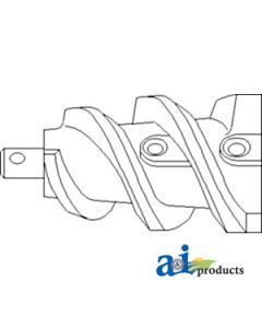 Stalk Roll Auger Assembly (LH)