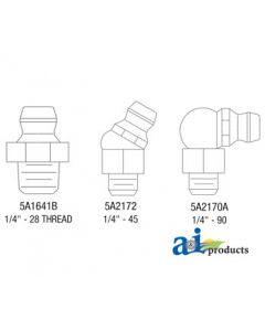 1/4-28? Taper Thread Fitting, 20 pack