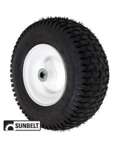 WHEEL-TRACTION, 13X5X6, WHITE, FP