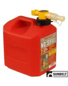 Fuel Can, No-Spill CARB Gas Can (2.5 gallon)