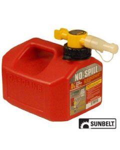 Fuel Can, No-Spill CARB Gas Can (1.25 gallon)