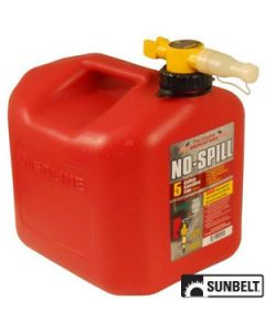 Fuel Can, No-Spill CARB Gas Can (5 gallon)