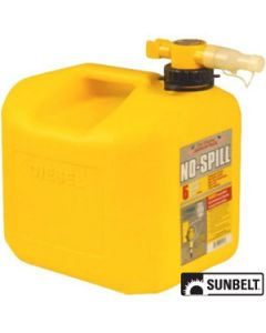 Fuel Can, No-Spill CARB Diesel Can (5 gallon)