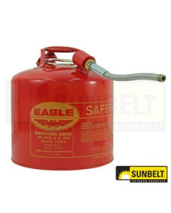 Fuel Can, Eagle Type-II Safety Cans (5 gallon)
