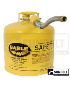 Eagle 5 Gal Diesel Safety Can Type 2 HD