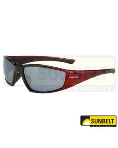 SFTY GLS, RPG, BLACK/RED FR, SILV MR LEN