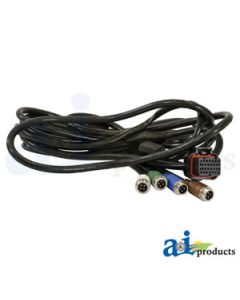 Cable, G4 4640 John Deere Display, 4 Wired Camera Port