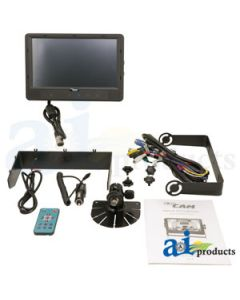 "CabCAM 9"" Quad Monitor"