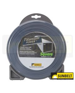 "Titanium Power Trimmer Line, .130"" square"