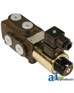 "6 Port Solenoid Diverter Valve 3/8"" BSP"